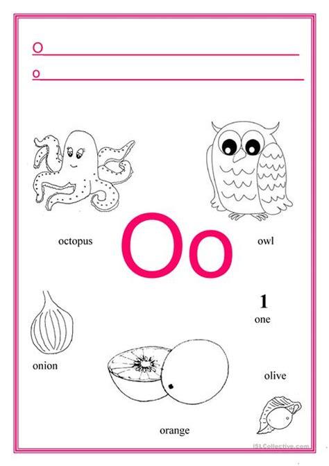 letter o worksheets o worksheet kidz activities 33961