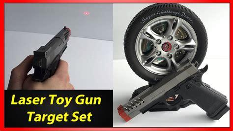 Laser Gun Target Shooting Set