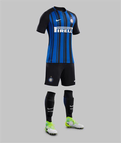 Inter Milan 17-18 Home Kit Released - Footy Headlines