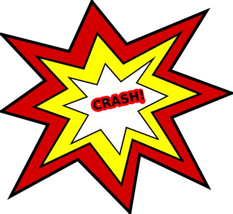 animated wrecked clipart crash