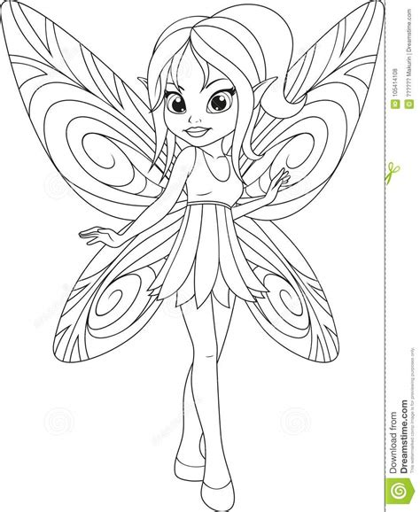 Fairy Cartoons Illustrations & Vector Stock Images