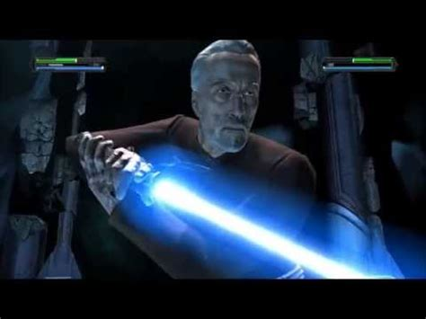 Star Wars The Light Side by Count Dooku Returns As A Jedi Youtube