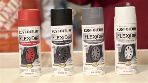 rust oleum flexidip removable rubber coating  youtube