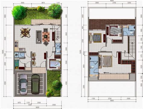 desain rumah minimalis ukuran  meter