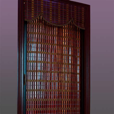 bamboo folding bamboo curtain shutter doors sliding door