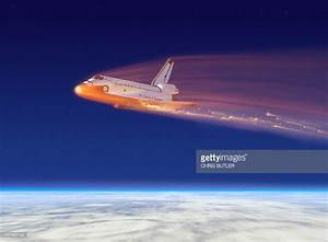 Space Shuttle Columbia Disaster Stock Illustration   Getty ...