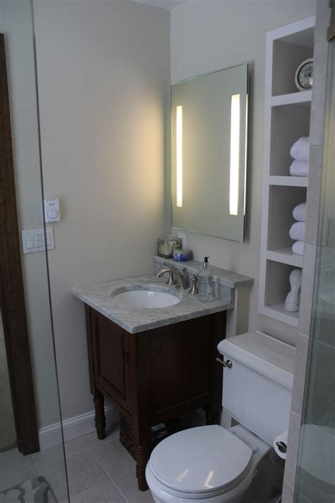 Ideas About Very Small Bathroom On Pinterest Small