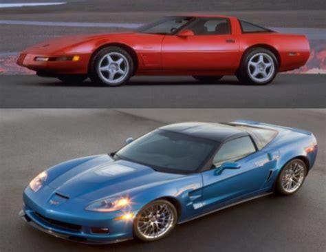 Corvette Zr1 Vs by Generation Gap Chevrolet Corvette Zr 1 Vs Corvette Zr1