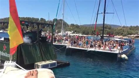 Catamaran Ibiza Boat Party by Boat Party Mundo Marino Catamaran Ibiza Junio 2015