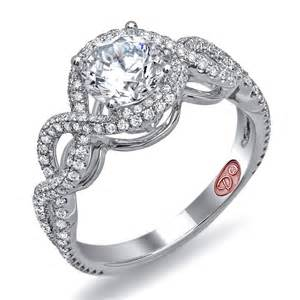 pretty wedding rings beautiful engagement ring demarco bridal jewelry official
