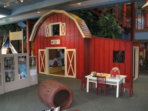 The Big Red Barn  Picture Of Treehouse Children's Museum