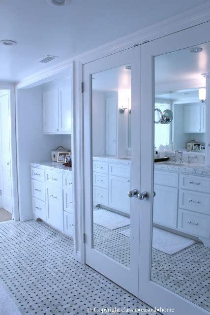 newport bay front home ii bedroom closet doors mirror