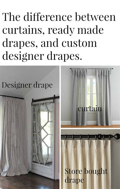 curtains and draperies the difference between drapes and curtains
