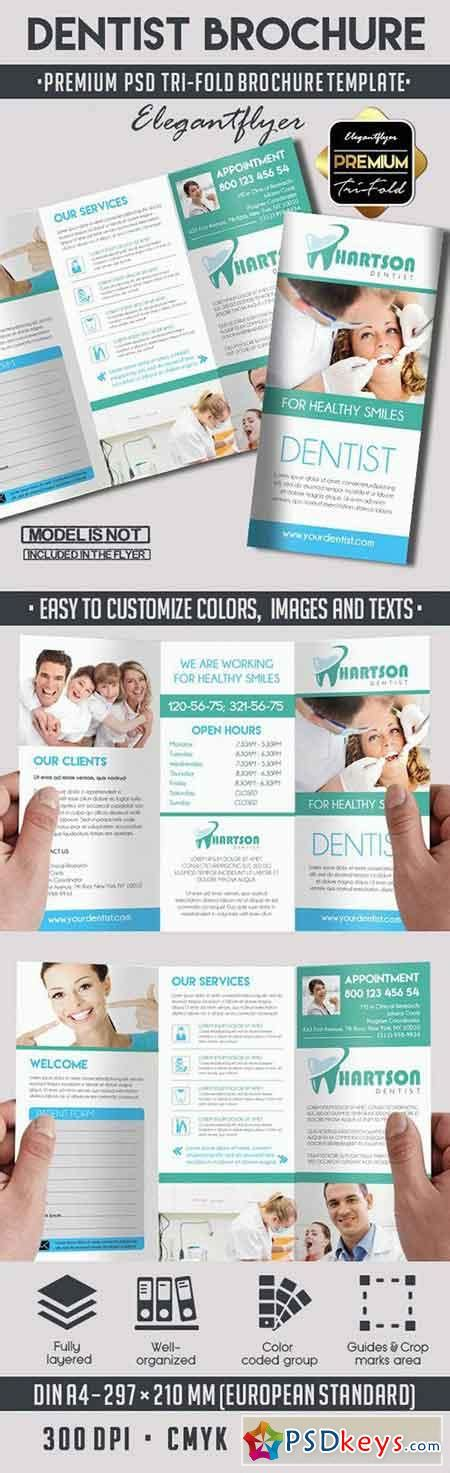 Free Dental Brochure Templates by Brochures 187 Page 10 187 Free Photoshop Vector Stock