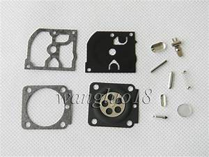 For Stihl Hs45 Fs55  Fs38  Bg45 Mm55 Mini Tiller 4137 Emu Trimmer Carburetor Kit