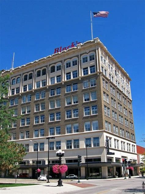 Blacks Waterloo Iowa Blacks Department Store Building