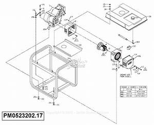 Powermate Formerly Coleman Pm0523202 17 Parts Diagram For