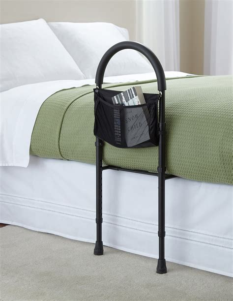Bed Handrail - bed rails assistance bar elderly seniors handicap