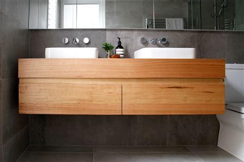 timber vanities cope wet bathroom