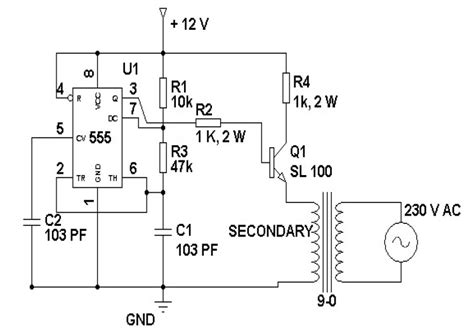 Loadedcircuit Volt Inverter Circuit