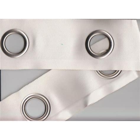bande d oeillets pour rideaux bande a oeillet ivoire tissus calvet