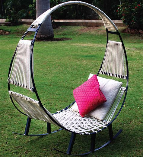 This Hammock Rocking Chair Is The Best Thing Ever