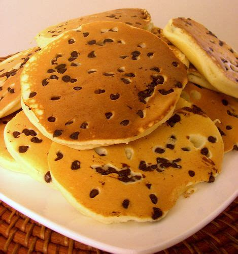 chocolate chip pancakes 17 best ideas about fluffy pancakes on pinterest scratch pancakes perfect pancake recipe and