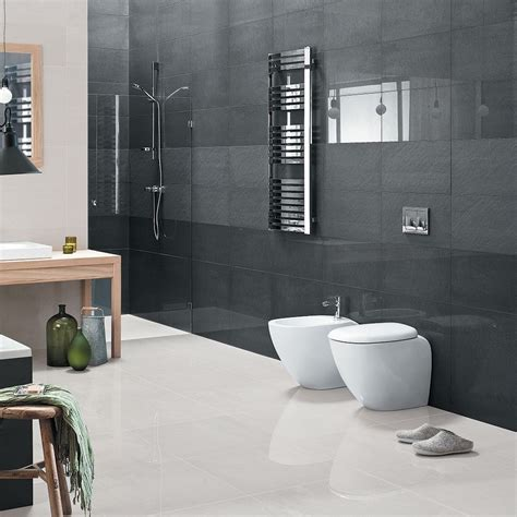 Black Polished 600x600 Tiles Salon Porcelain Tiles