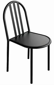 La Petite Chaise : chaise noire mallet stevens ~ Nature-et-papiers.com Idées de Décoration