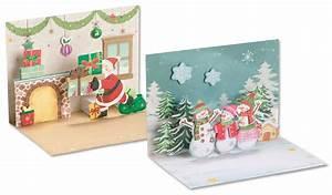 Pop Up Karte Weihnachten : folia 3d popup karten weihnachten 2er set spassamdrucken ~ Buech-reservation.com Haus und Dekorationen