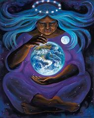 Divine Feminine Mother Earth