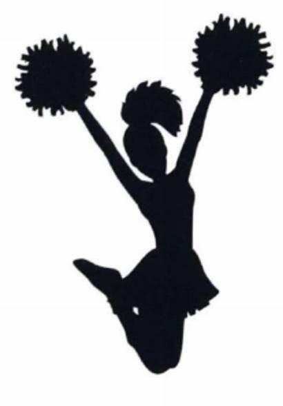 Cheerleader Svg Cheer Cheerleading Clip Med Clipart