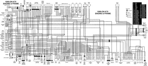 1985 Bmw K100 Wiring Diagram by K Bike Wiring Diagrams