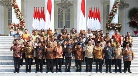 daftar riwayat pendidikan  menteri  jokowi maruf amin