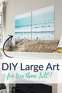 color engineer prints diy large art on a budget With what kind of paint to use on kitchen cabinets for large inexpensive wall art