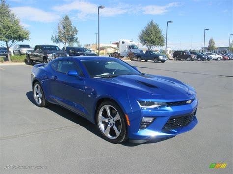 2017 Hyper Blue Metallic Chevrolet Camaro Ss Coupe