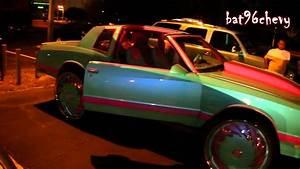 Outrageous Pink  Blue Chevy Monte Carlo Ss On 30 U0026quot  Dub Da U