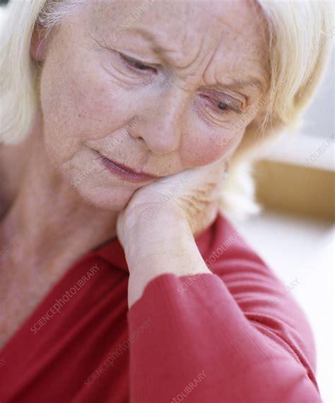 Depressed Woman Stock Image F0010703 Science Photo
