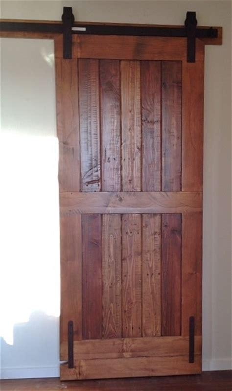 rustic  interior doors wine room barn type office