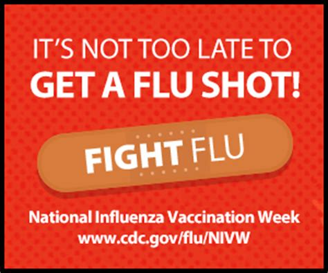 National Influenza Vaccination Week Free Nivw Web Tools