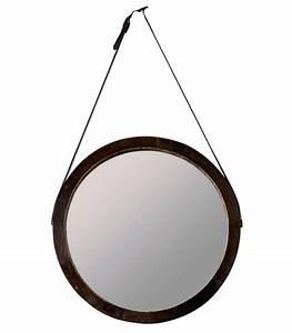 Miroir Rond à Suspendre : miroir et glace miroir design miroir en ligne wadiga ~ Teatrodelosmanantiales.com Idées de Décoration
