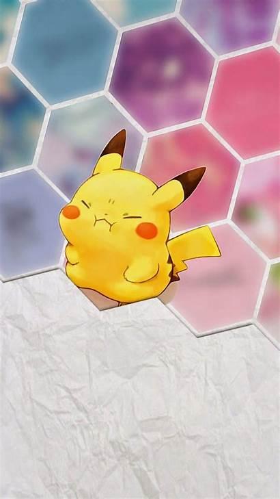 Pikachu Wallpapers Pokemon Iphone Kawaii Backgrounds Chibi