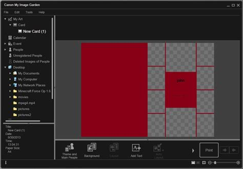 canon my image garden software informer screenshots