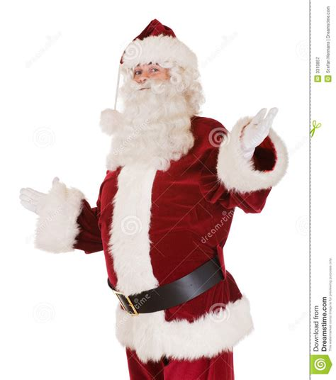 traditional santa claus ringing on traditional santa claus royalty free stock photography image 3310857