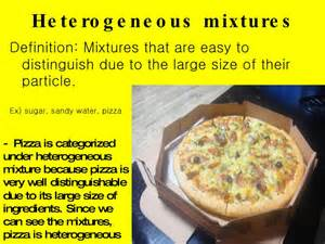 Heterogeneous Mixture Examples Chemistry