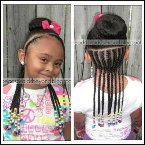 beads braids    girl hairstyles braids