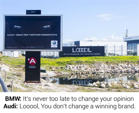 audi outdoor advert by access audi looool ads of the world