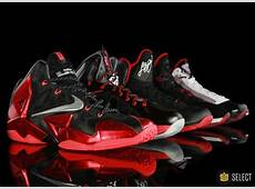 Evolution of the Nike LeBron VIIXI WearTesters