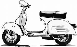 Vespa Clip Art at Clker.com - vector clip art online ...