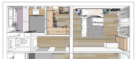 plan chambre dressing mini salle d eau dans une chambre maison design bahbe com